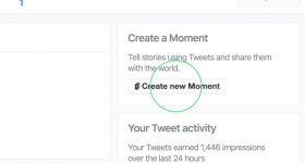 Twitter Create New Moment