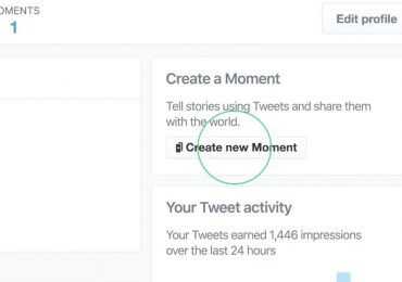 Twitter Create New Moment