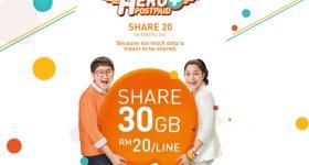 U Mobile Share 20