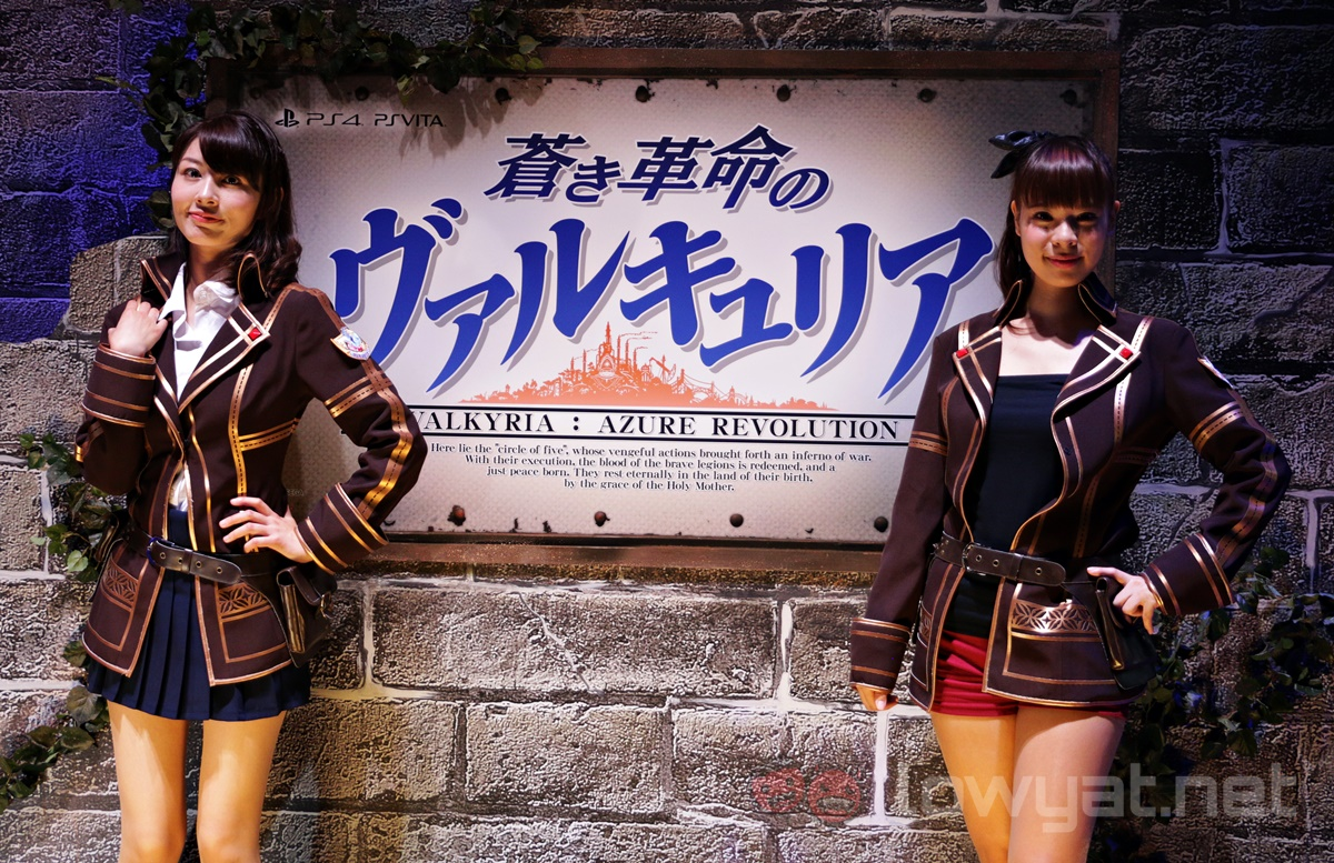Valkyria Booth Babes TGS 2016