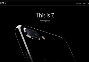 iPhone 7 Product Page