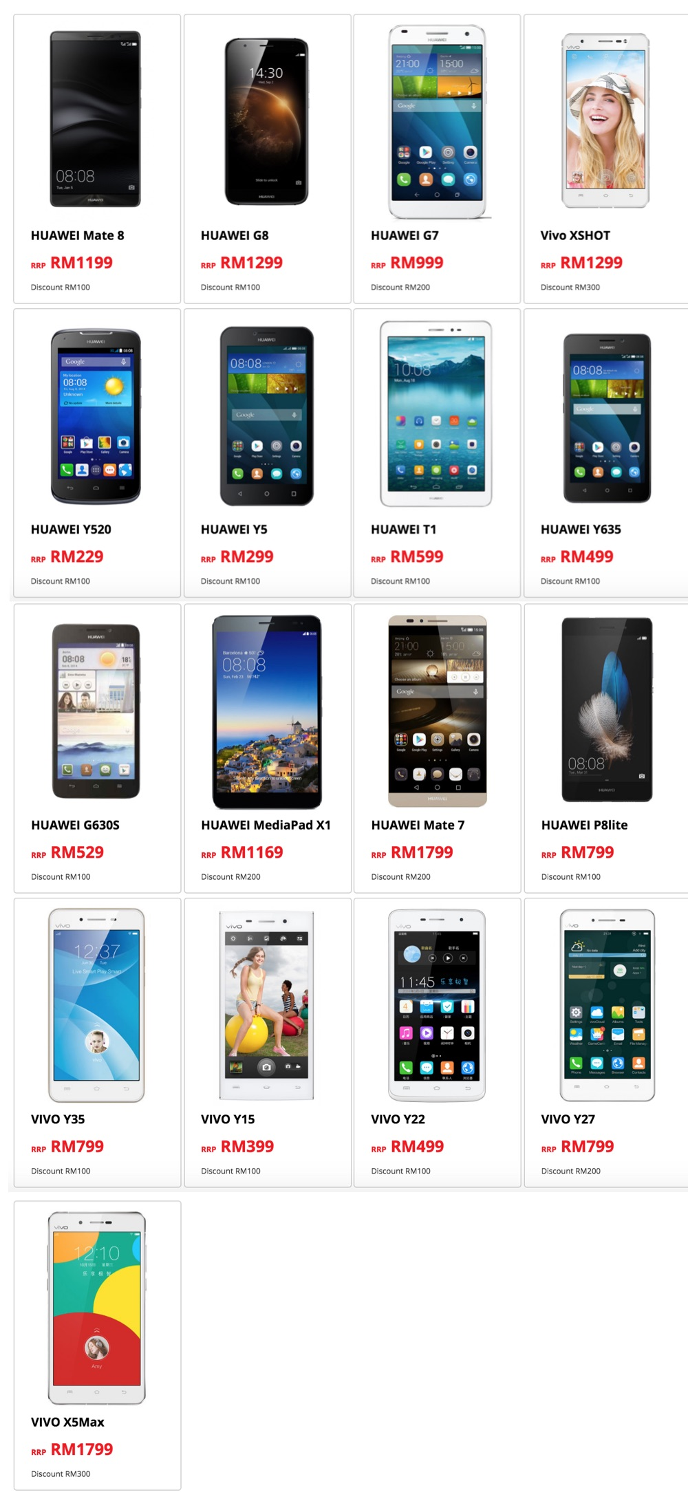 redONE Malaysia Day Sale Devices