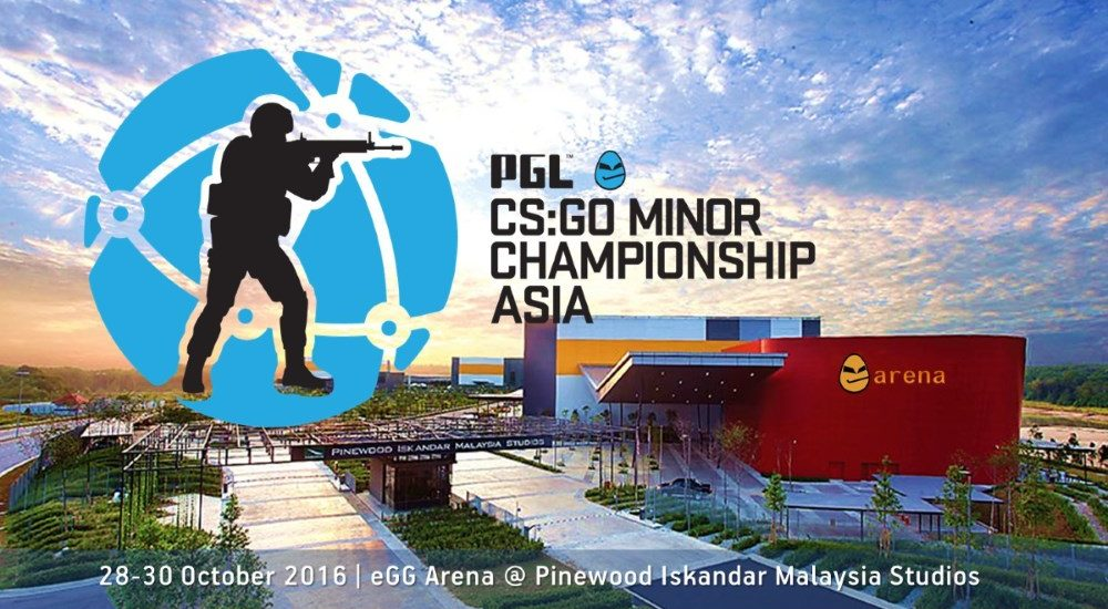 PGL eGG CS:GO Minor Championship Asia 2016