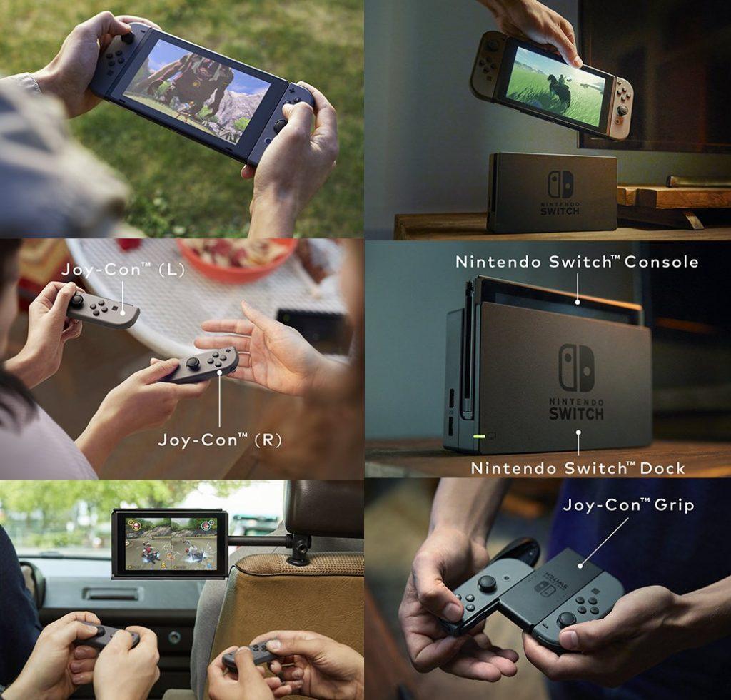 Nintendo Switch Modes