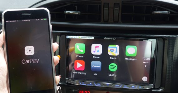 CarPlay on Pioneer AVH X8850BT