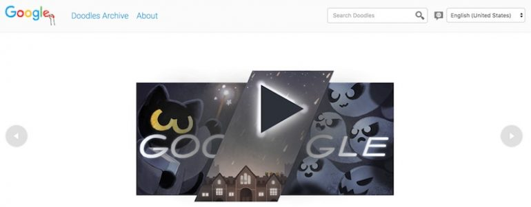 Google Celebrates Halloween With Google Doodle Game Lowyatnet