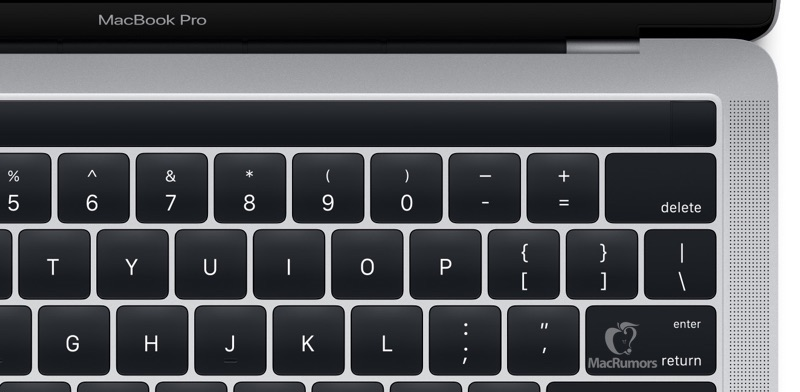 MacBook Pro Magic Toolbar Leak in Code