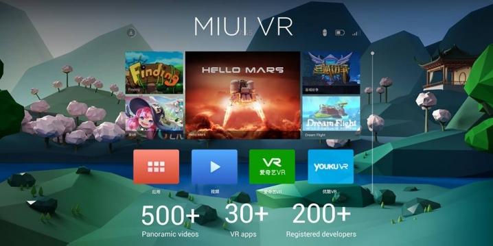 Mi VR apps