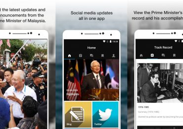 Najib Razak App Screenshots