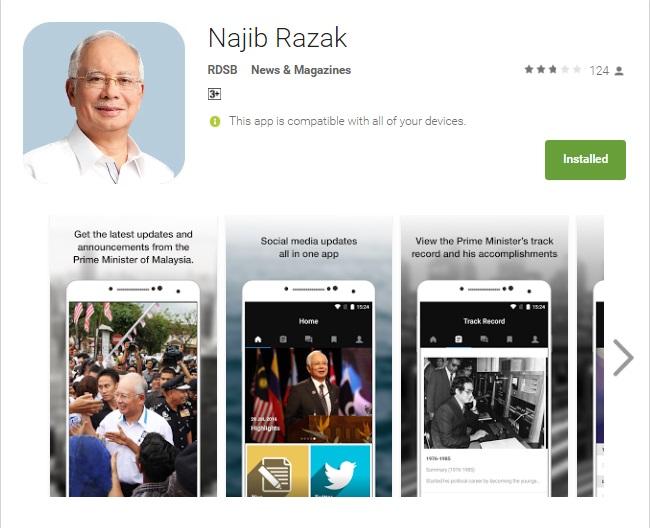 Najib Razak App
