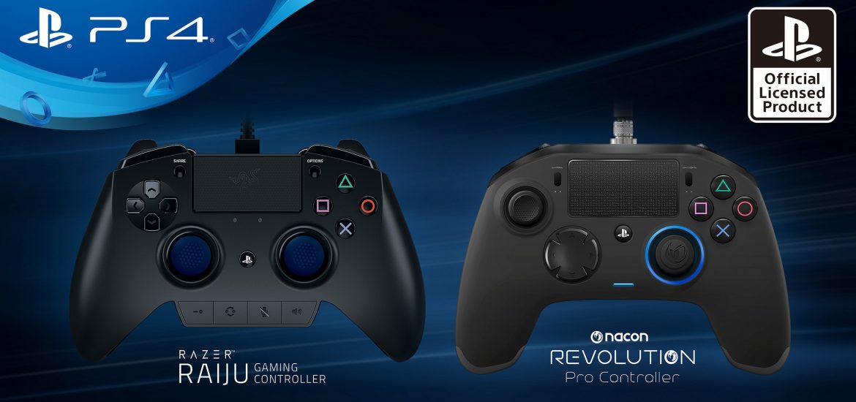 PlayStation Razer Raiju Nacon Revolution