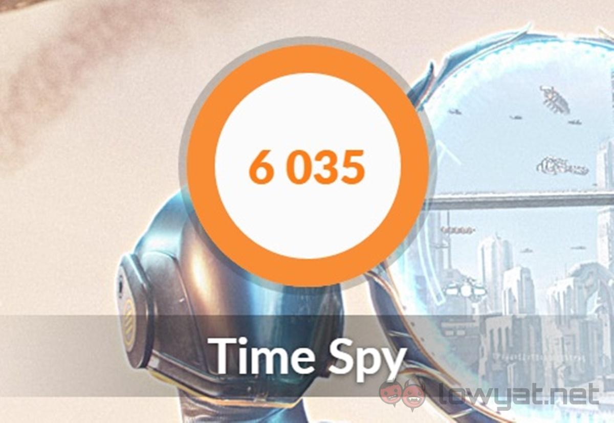 Predator G1 Time Spy