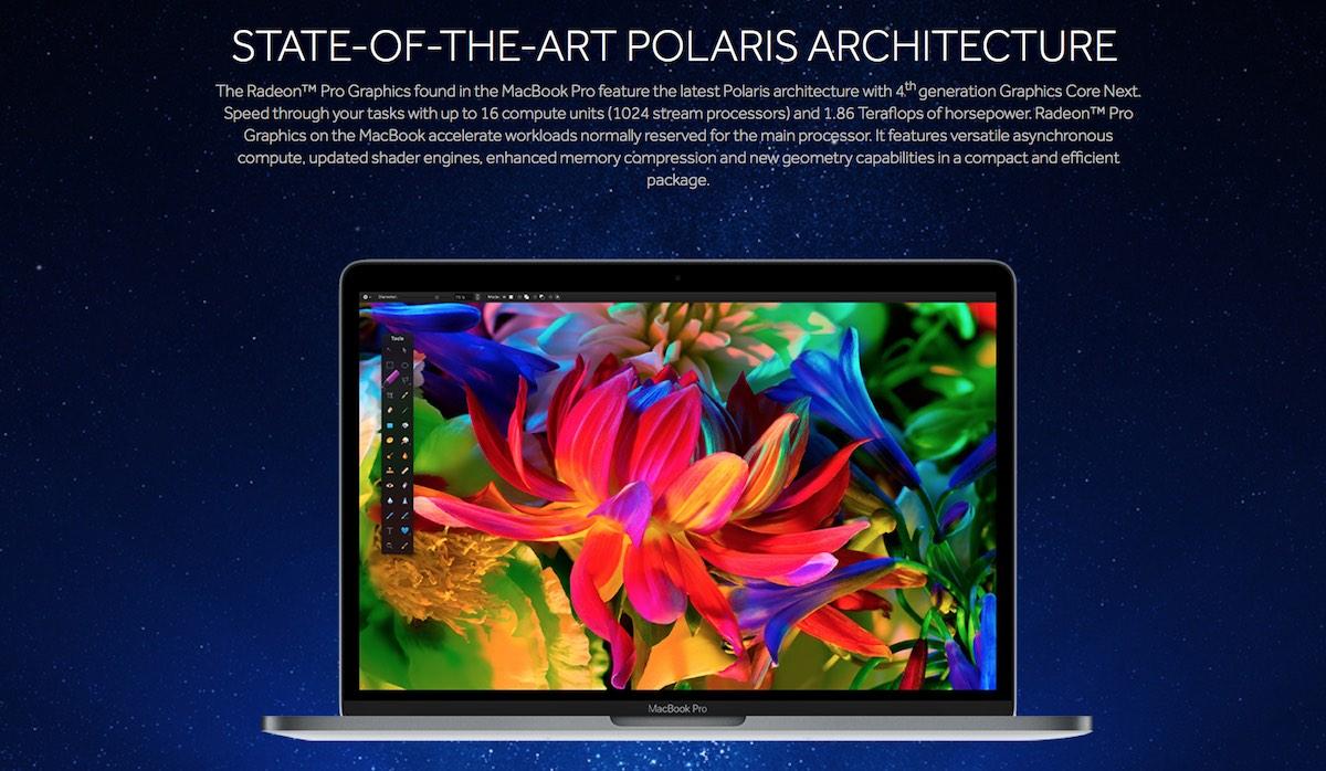 Radeon Pro MacBook Pro 2