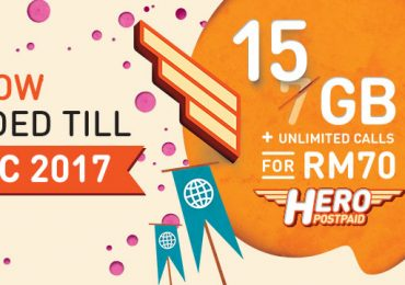 U Mobile Hero Postpaid P70 Extended till 31 December 2017