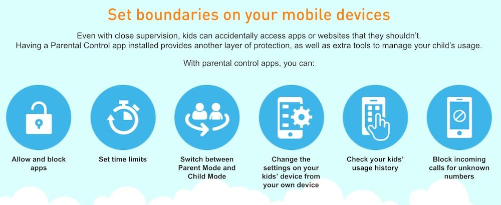 U Mobile Kakatu and Kidslox free trial