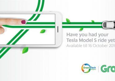 grab tesla model S