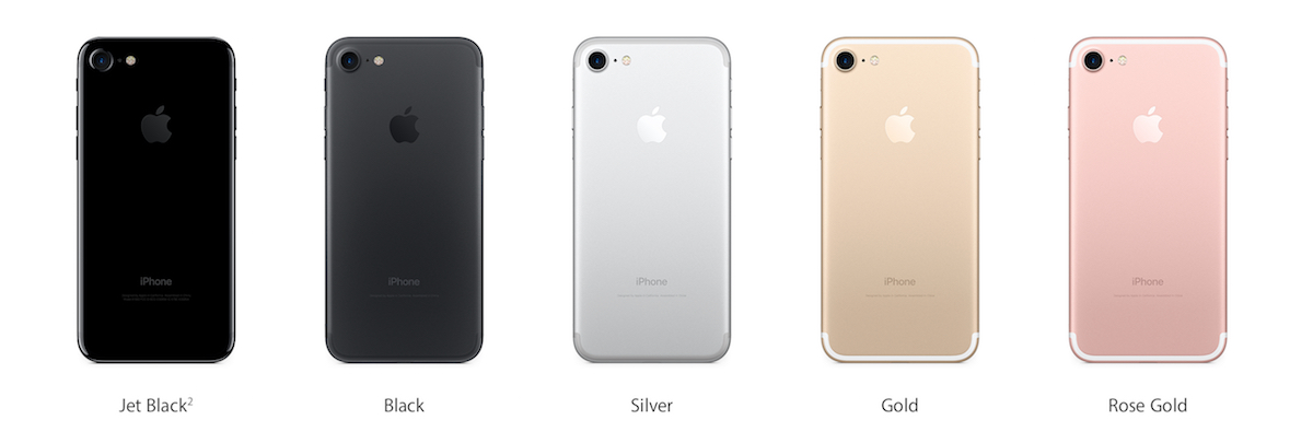 apple iphone 7 plus colors. when it comes to colour options, both the apple iphone 7 and plus are available in either rose gold, black, jet or silver schemes. iphone colors