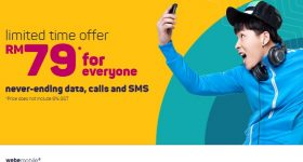 Webe Mobile November 2016 Promo