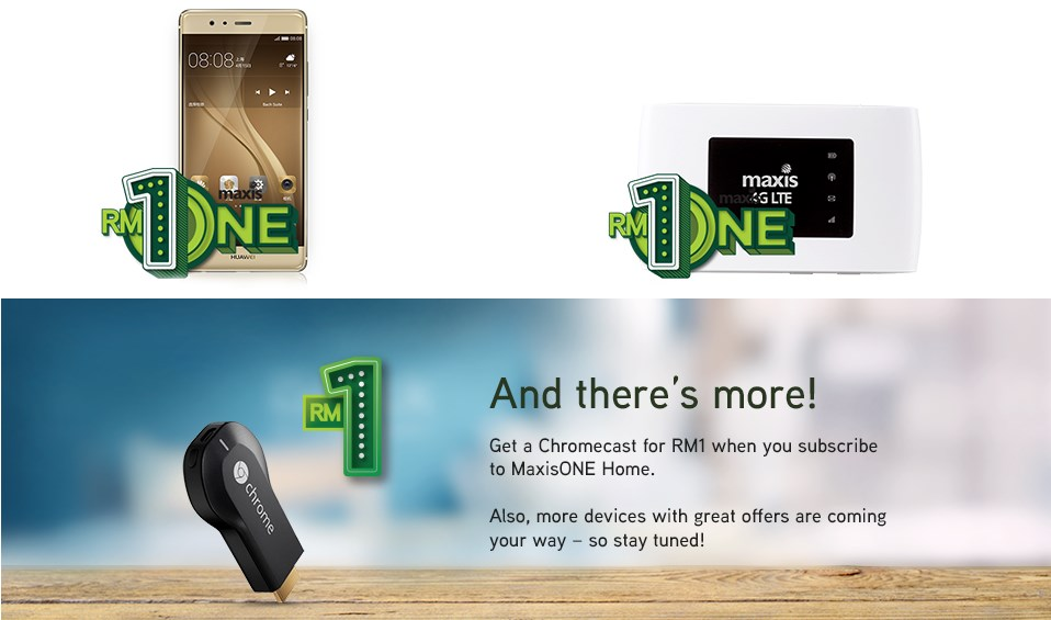 The Power of ONE for MaxisONE Customers