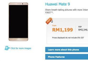 Celcom Huawei Mate 9 Bundle