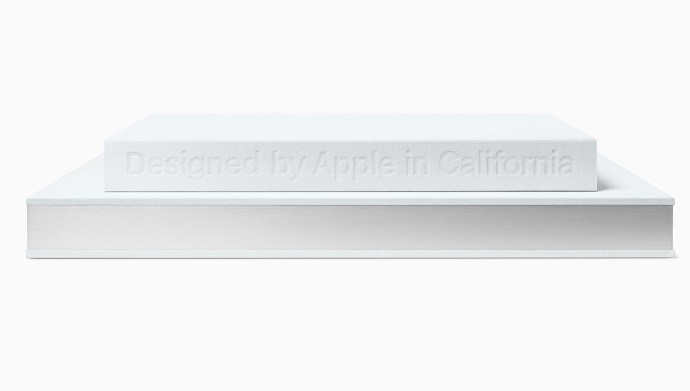 Apple releases a hardcover book featuring apple products for Apple product book