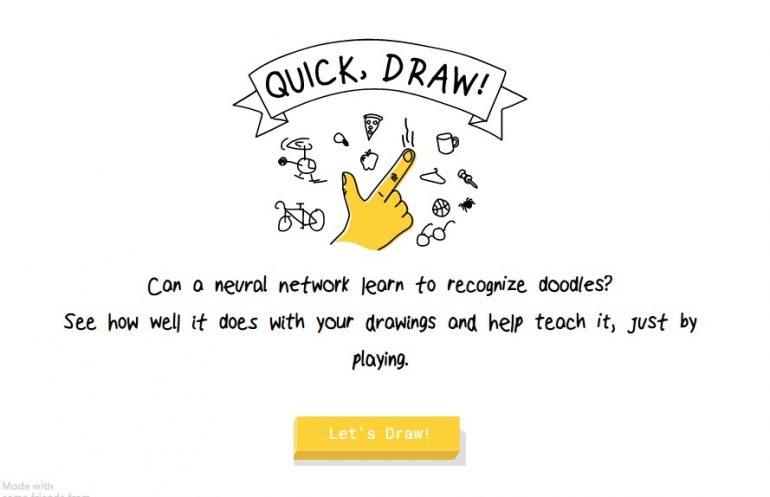 google drawing game