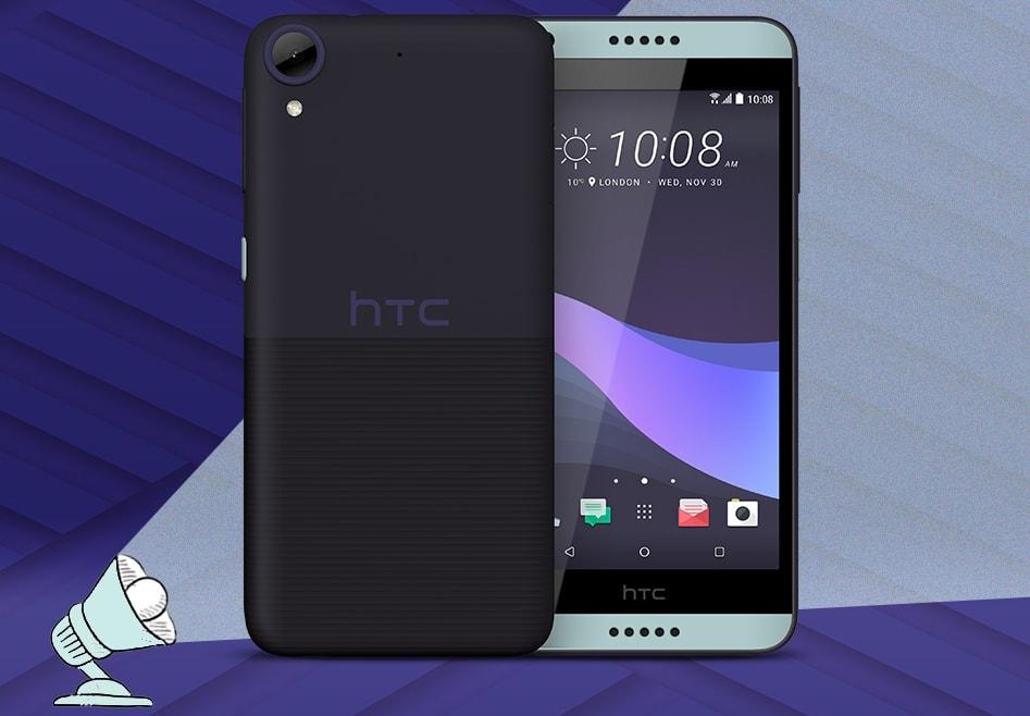 HTC Desire 650 Black