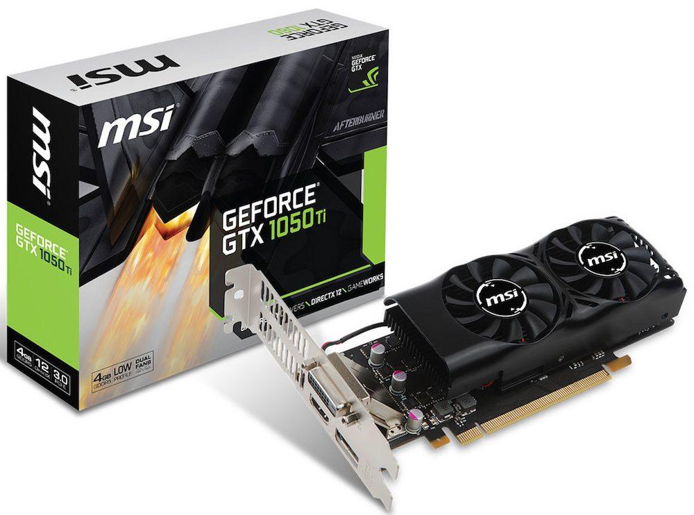 MSI GTX 1050 Ti 4GT LP 3