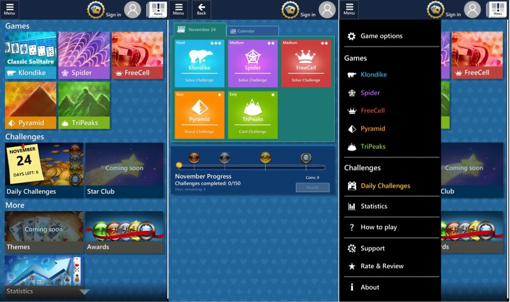 Microsoft Solitaire Collection iOS