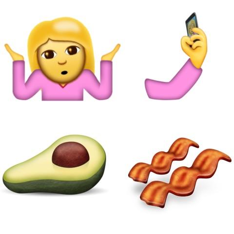 New Emoji in Unicode 9 and iOS 10.2 Beta