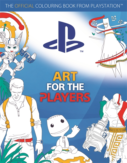 Playstation Colouring Book