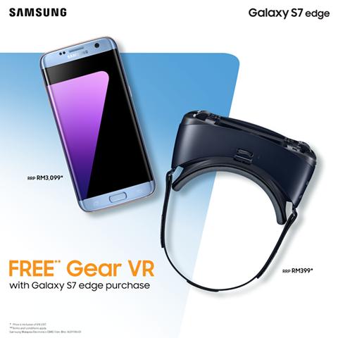 Samsung Malaysia Free Gear VR