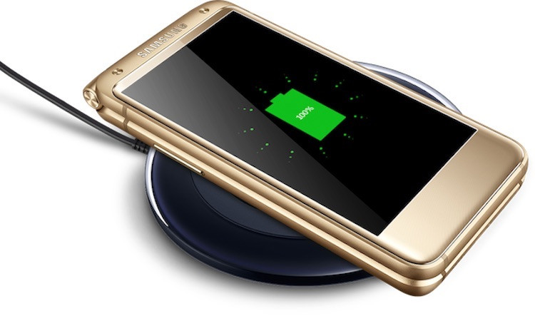 Samsung W2017 Clamshell Smartphone Wireless Charging v2