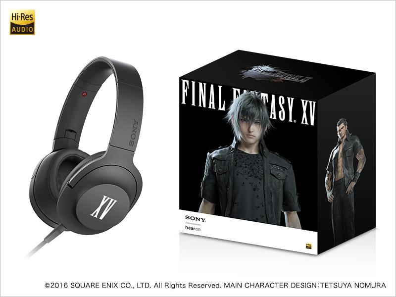 Sony Final Fantasy Branded Headphones