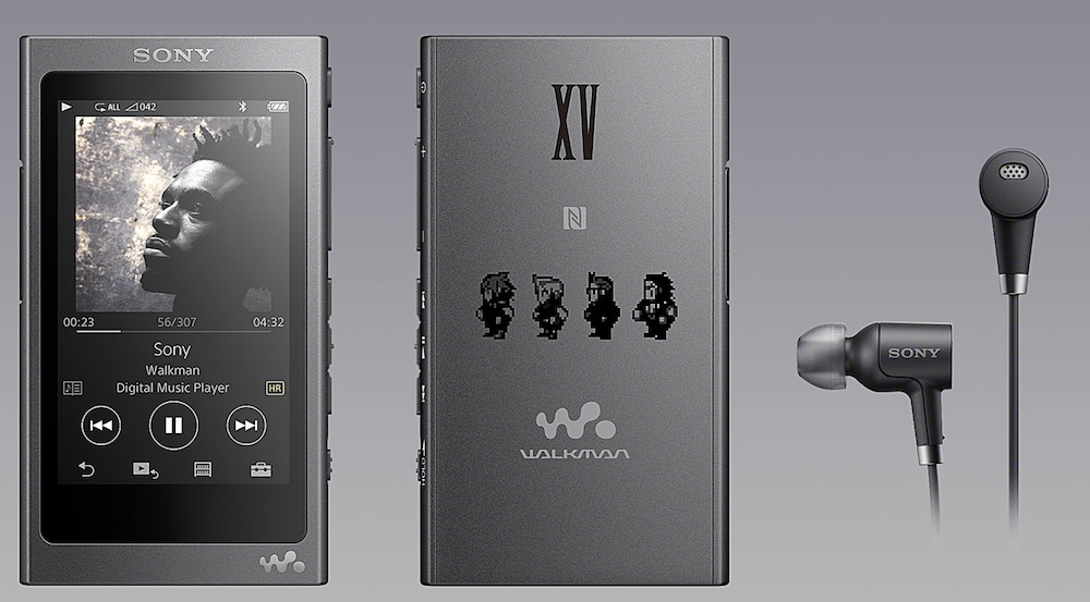 Sony Final Fantasy Branded Walkman A Series