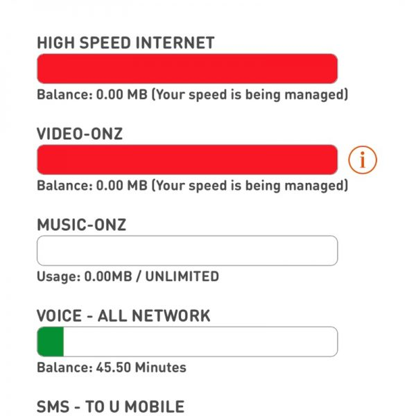 U Mobile Music Onz on MyUMobile App