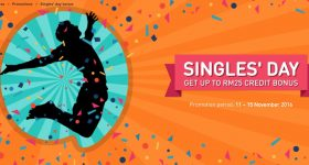 U Mobile Singles Day Credit Bonus Promotion