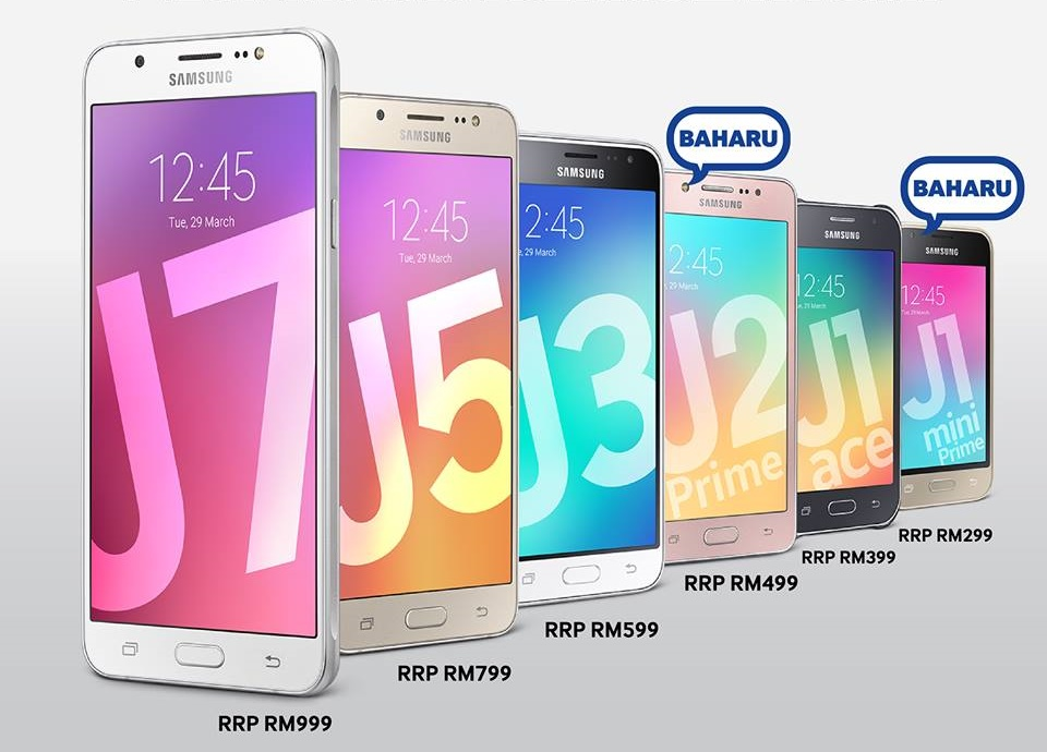 Samsung Introduces Galaxy J2 Prime And J1 Mini Prime In