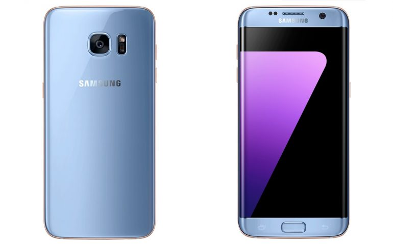 Samsung Galaxy S7 Edge In Blue Coral Now In Malaysia For