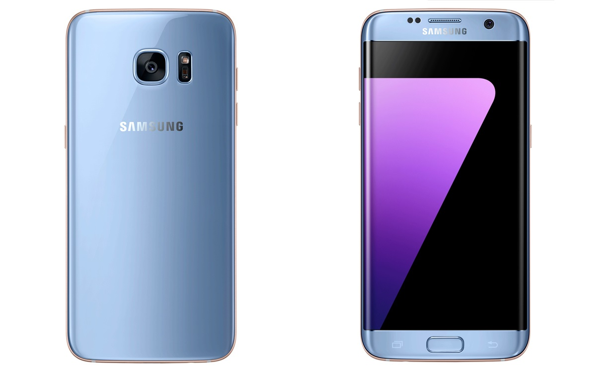samsung galaxy s7 edge in blue coral now in malaysia for. Black Bedroom Furniture Sets. Home Design Ideas