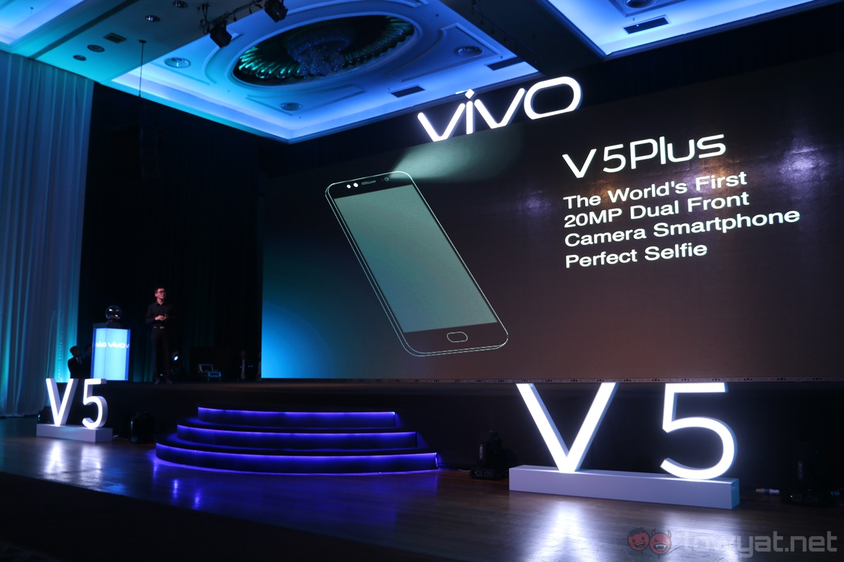 Vivo V5 With 20mp Selfie Camera Arrives In Malaysia For Rm1 299