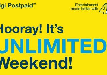 Digi Postpaid 110 Unlimited Weekend Internet