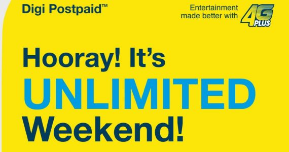 Digi Postpaid 110 Unlimited Weekend Internet