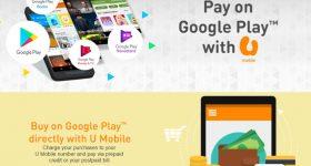 U Mobile Carrier Billing For Google Play