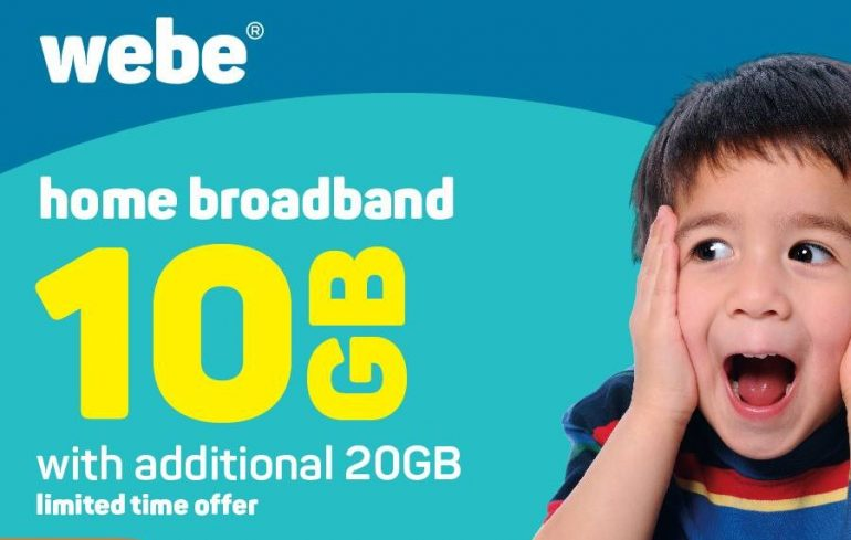 Webe Home Broadband