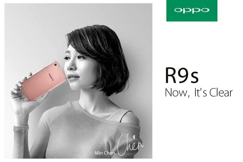 OPPO R9s x Min Chen
