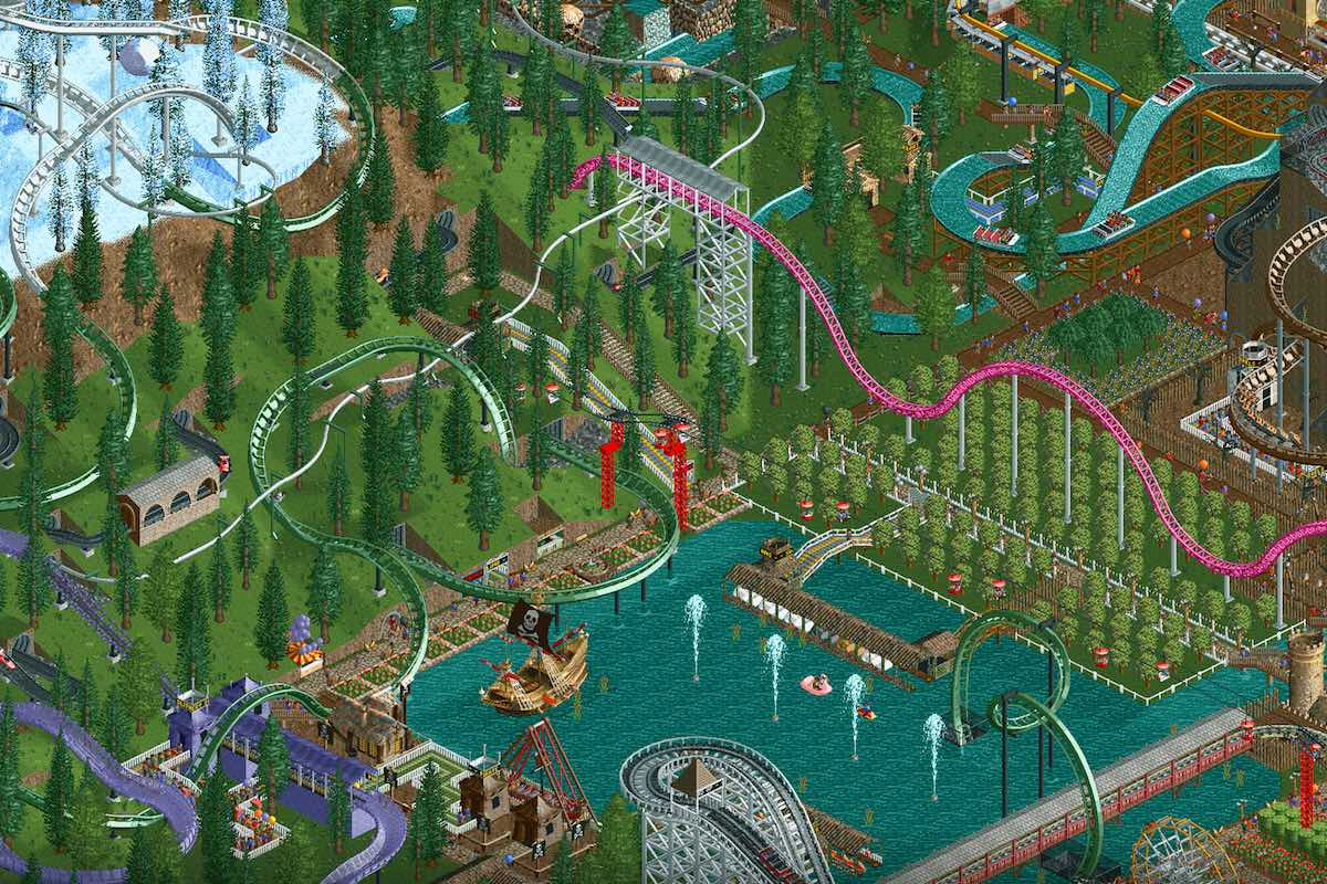 RollerCoaster Tycoon Classic 1