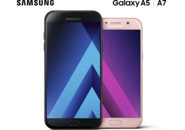 Samsung Galaxy A5 and A7 2017