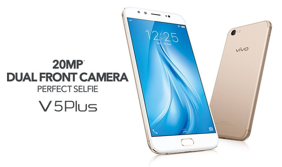 Vivo V5 Plus Receives Further Price Reduction Now Goes