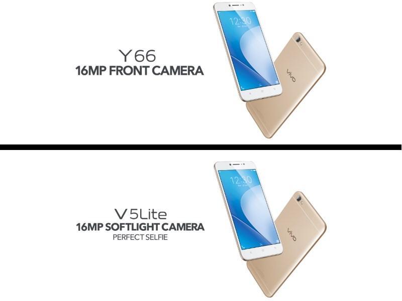 Vivo Y66 vs V5 Lite